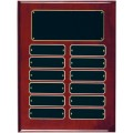 RPP12 Rosewood Finish Perpetual Plaque